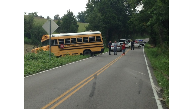 Driver charged after school bus accident in Union County; no children injured