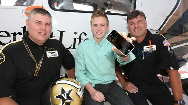 Siri saves Middle Tennessee teen's life after truck slips, falls on top of him