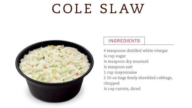 Chick-fil-A dropping 'Cole Slaw' from menu