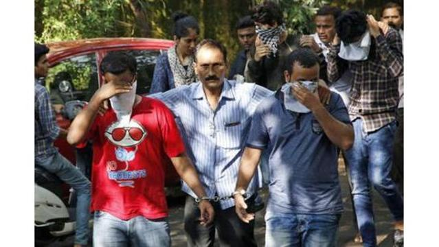 Dozens arrested at India call center linked to IRS scam calls