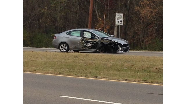 Woman crashes into tractor trailer in Jefferson County