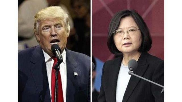 Trump speaks directly with Taiwan's leader, breaking diplomatic policy