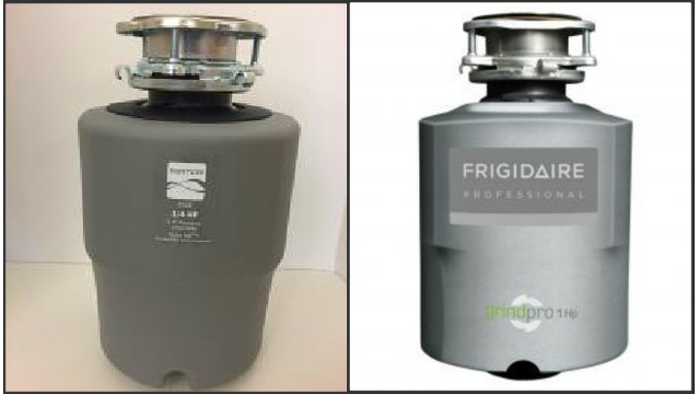 Risk of flying metal prompts garbage disposal recall