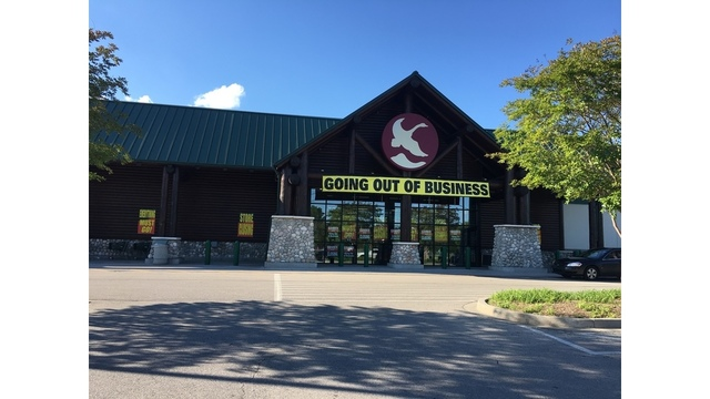 Gander Mountain closing Knoxville location