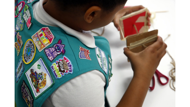 Girl Scouts Of Maine Holds Joint Cookie Rally