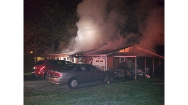 Cats, dog found trapped in Knox County house fire