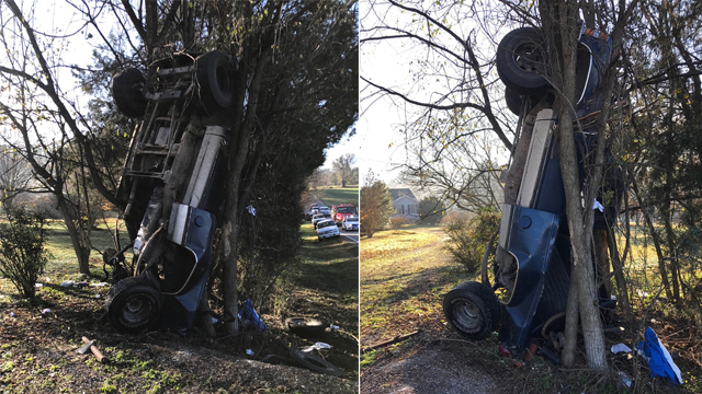 2 juveniles injured in Middle Tennessee crash