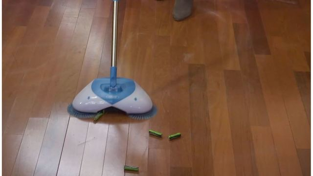 As Seen on TV: Does the Hurricane Spin Broom work?