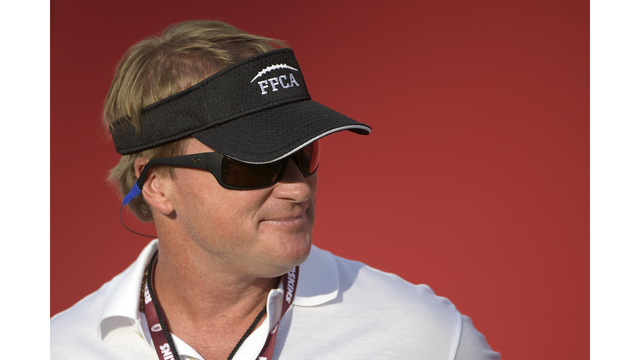 Gruden mentions Tennessee coaching search during MNF