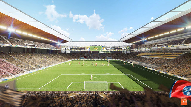 Nashville awarded new MLS expansion club