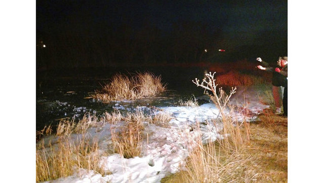 Utah deputy broke through frozen pond to pull out boy