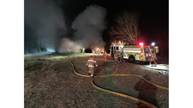Crews control house fire on New Year's Day