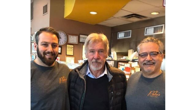 Harrison Ford stops by Knoxville restaurant