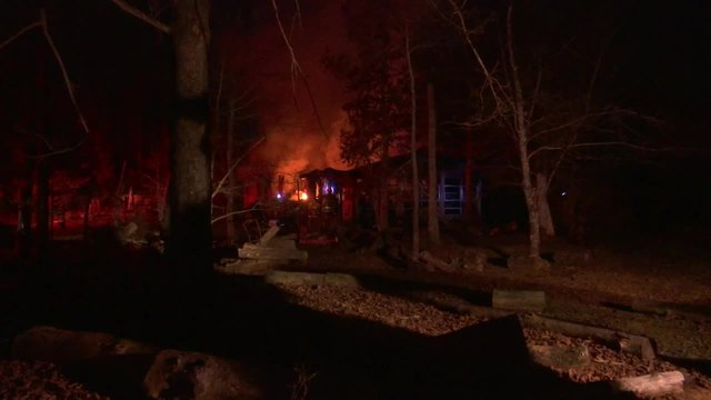1 injured in Blount County house fire