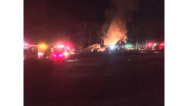 Early morning fire destroys home in Seymour