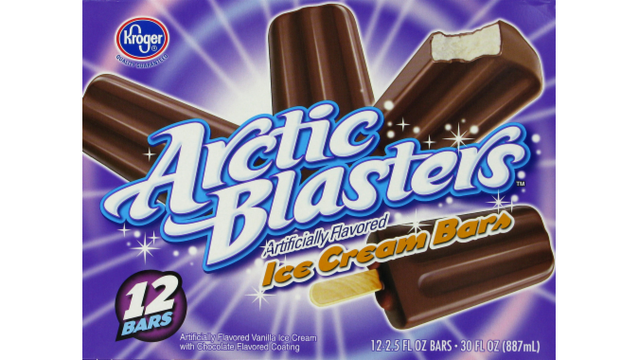 Giant recalls orange cream and ice cream bars