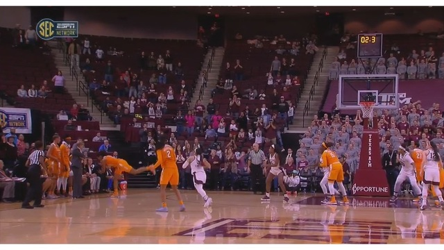 Texas A&M wins in OT against Tennessee 79-76 - Recap, Box score