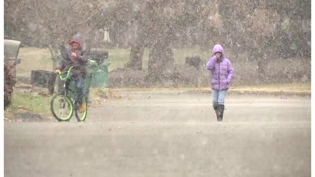 Winter Weather Advisory issued ahead of plunging temperatures, snow
