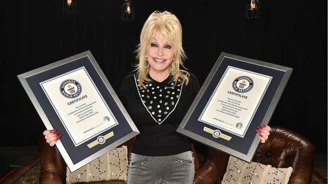Woah Dolly! Country queen celebrates 72, breaks world records
