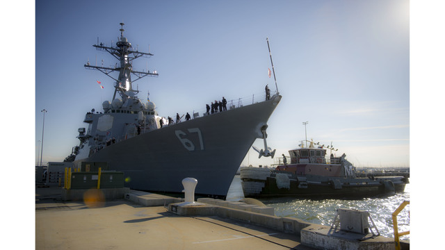 US Navy tracks Russian spy ship off Virginia coast