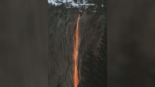 Reservations required this year to see Yosemite 'firefall'