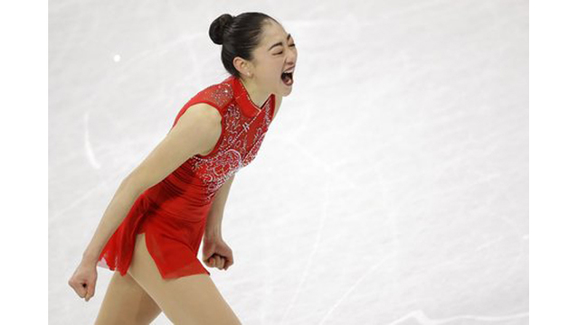 Mirai Nagasu becomes first American woman to land triple axel in Winter Olympics