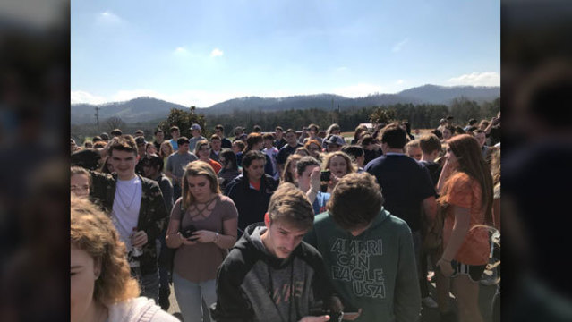 Hundreds of Austin ISD students 'walkout' to protest gun violence