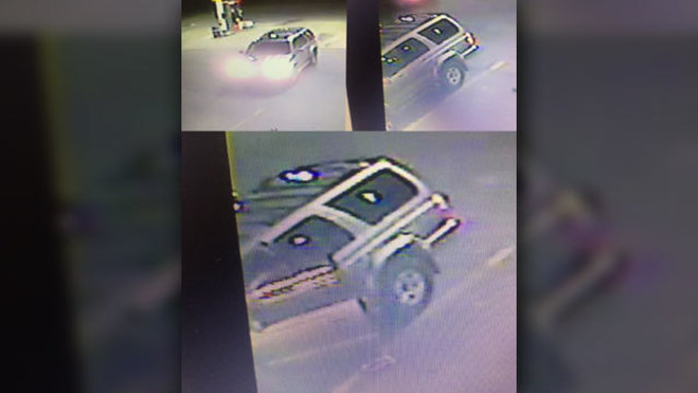 Police seek man who struck woman with toy gun at gas station