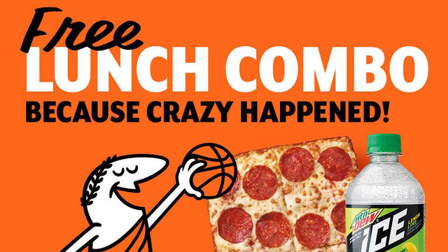 Thanks UMBC: Everyone wins a free Little Caesar's Lunch Combo