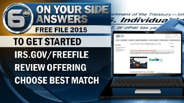 6 On Your Side Answers: How to e-file your taxes for free
