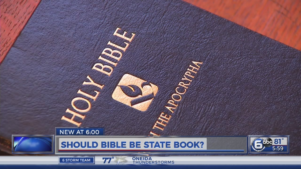 Knoxville churches question whether Bible should be official state book