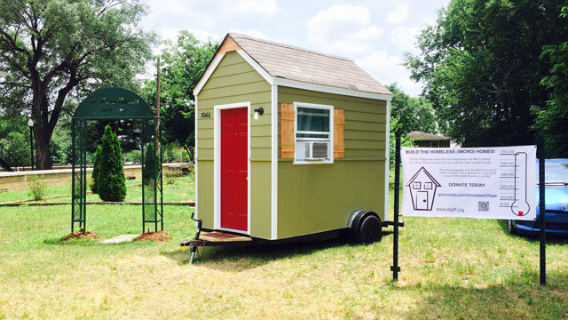 Middle Tennessee pastor raising money to build tiny homes for