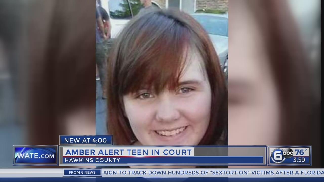 Police: Hawkins County teen that sparked AMBER Alert faces juvenile charges