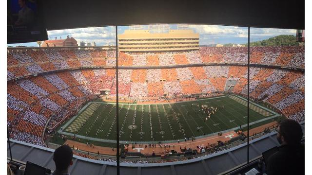 #CheckerNeyland returns to Rocky Top for Georgia game