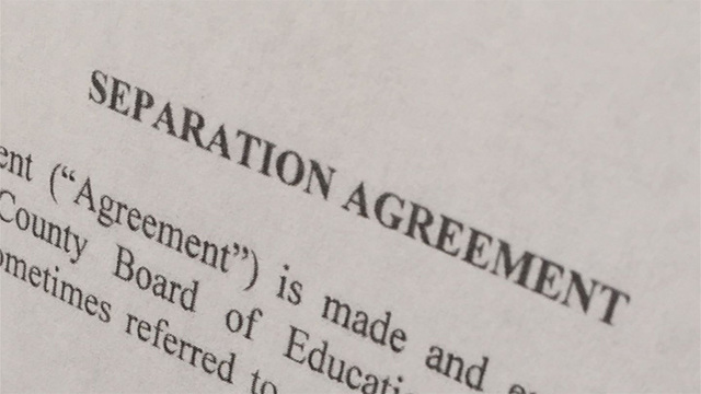 Who Benefits More From Separation Agreements School Districts Or