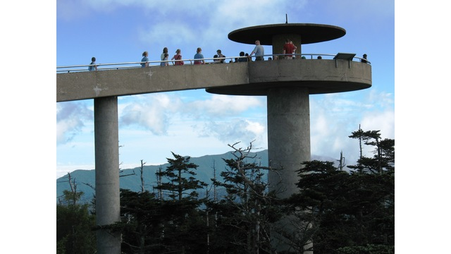 Clingman's Dome Road closed after winter weather