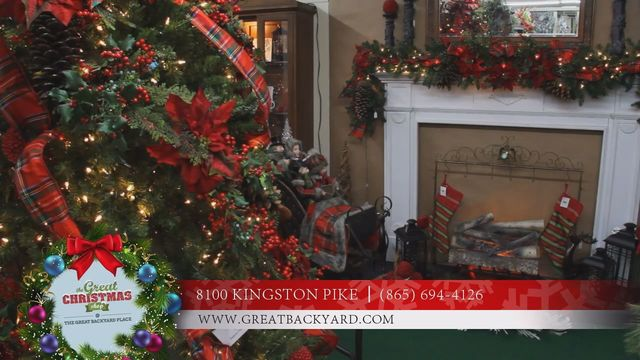 the great christmas shop by the great backyard place - Tennessee Christmas