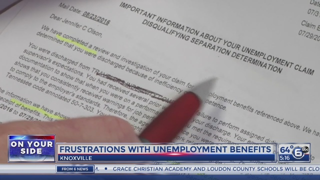 Knoxville woman battles with state unemployment office