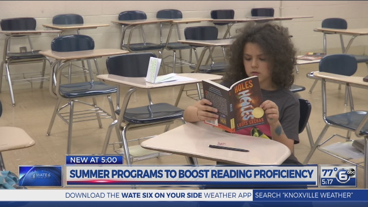 Knox County summer programs aim to boost reading proficiency