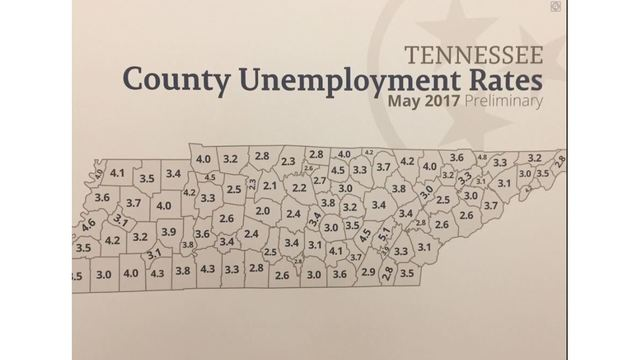 Tennessee receives lowest unemployment rate in recorded history