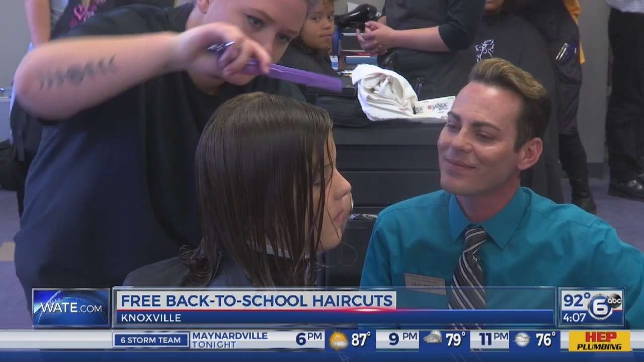 Tennessee School Of Beauty Gives Free Haircuts To Boys And Girls Club