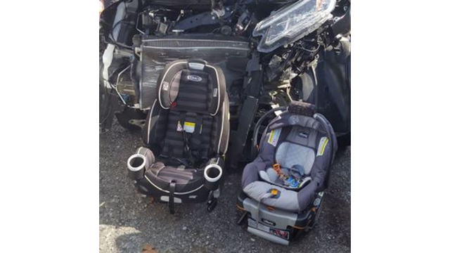 Pennsylvania mom reminds others of car seat safety with viral photo