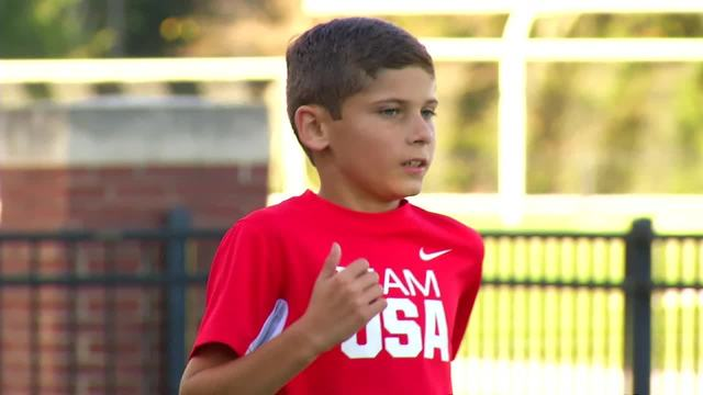 Knox County 11-year-old running champion strives for more