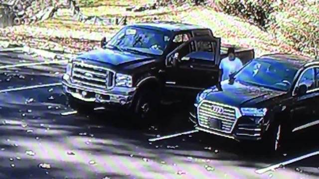 car break in at north knoxville gym caught on camera