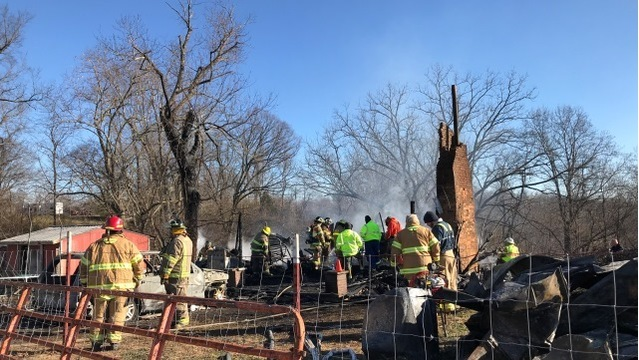 Father, 2 children killed in Middle Tennessee house fire