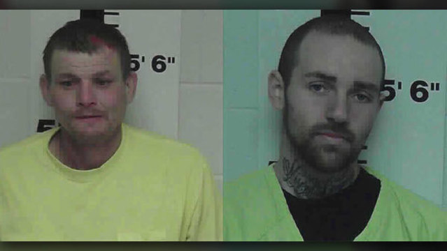 2 charged after 3-county chase ends near Grainger County High School