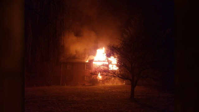 Family who escaped Heiskell fire: 'God woke us up'