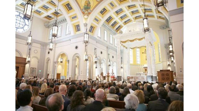 Hundreds turn out for Rite of Dedication of The Cathedral of the Most Sacred Heart of Jesus