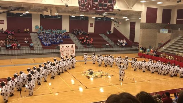 East Texas dance team goes viral with 'bovine' performance