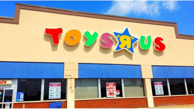 Toys 'R' Us could go out of business next week
